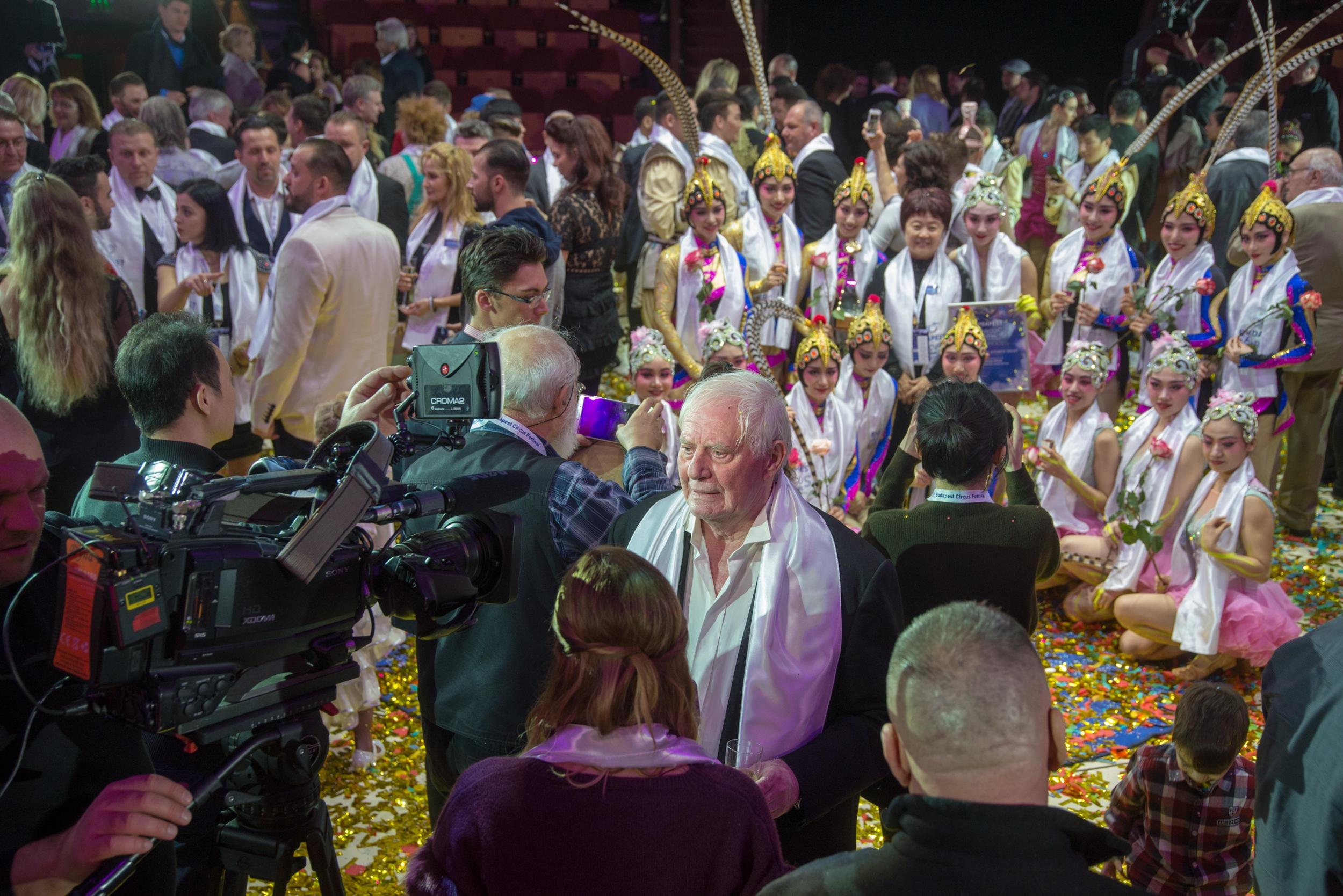 Díjeső a XII. Budapest Nemzetközi Cirkuszfesztivál gáláján!