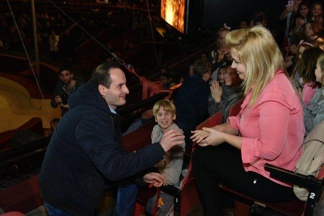 Lánykérés a cirkuszban: Könnyek között mondott igent Gábornak a kedvese