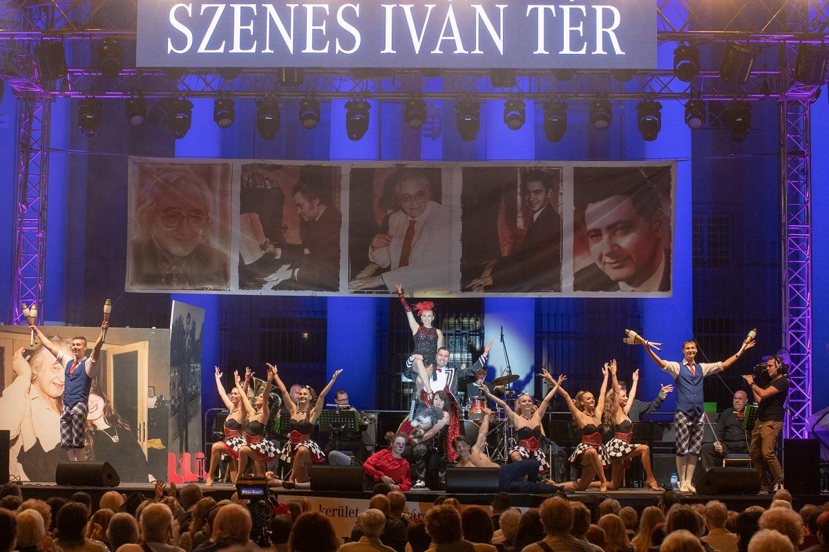 Cirkuszművészet a Szenes Iván Emlékkoncerten