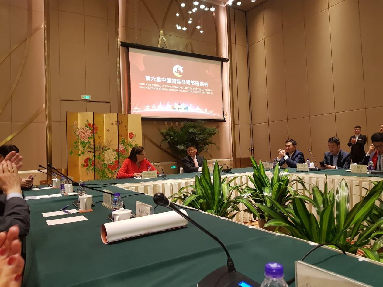 A Lázár Ervin Programról tartott előadást Fekete Péter, a Zhuhaiban tartott 6. Kínai Nemzetközi Cirkuszfesztiválon és konferencián