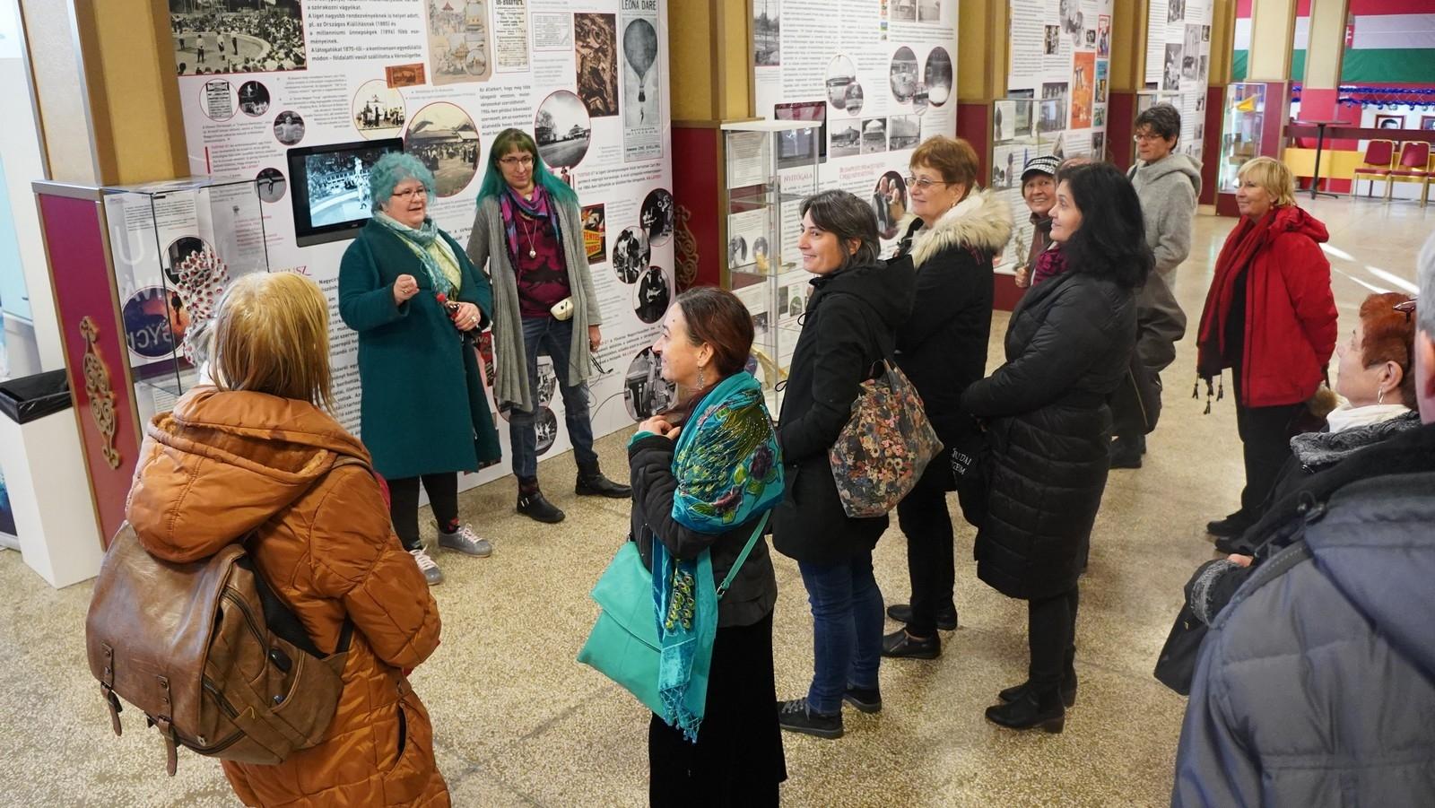 Tárlatvezetés a Fővárosi Nagycirkusz múzeumi szakmai napján