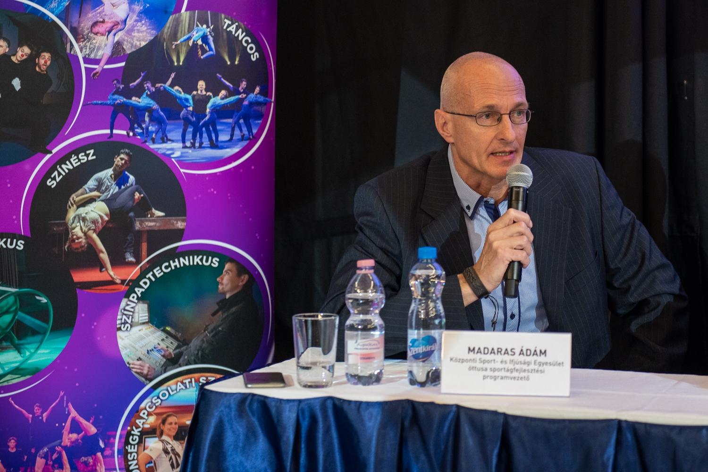 A sport- és a cirkuszművészet utánpótlás fejlesztése – Interjú Madaras Ádámmal
