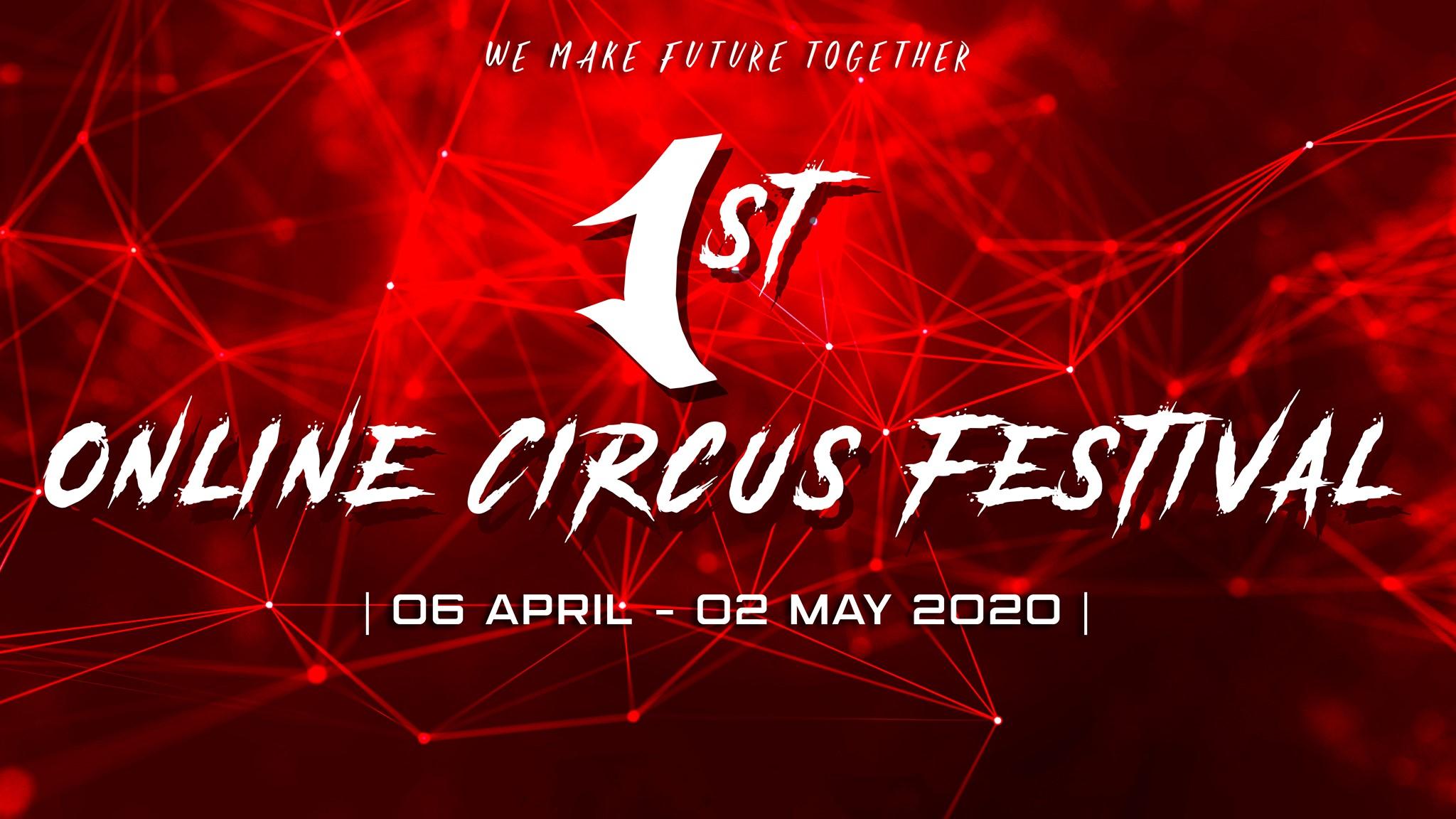 Páratlan összefogás – Elindult az I. Online Cirkuszfesztivál