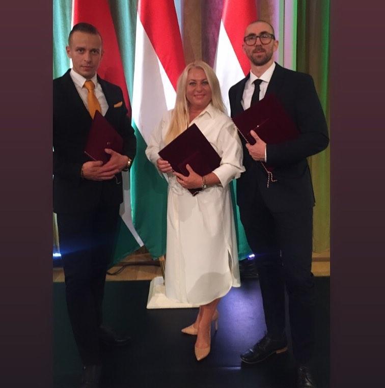 Személyesen is átvette Hortobágyi Károly-díját Vincze Tünde artistaművész