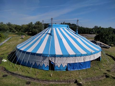 Cirkuszművészet a Cinemaqua Film és Natúrparkban