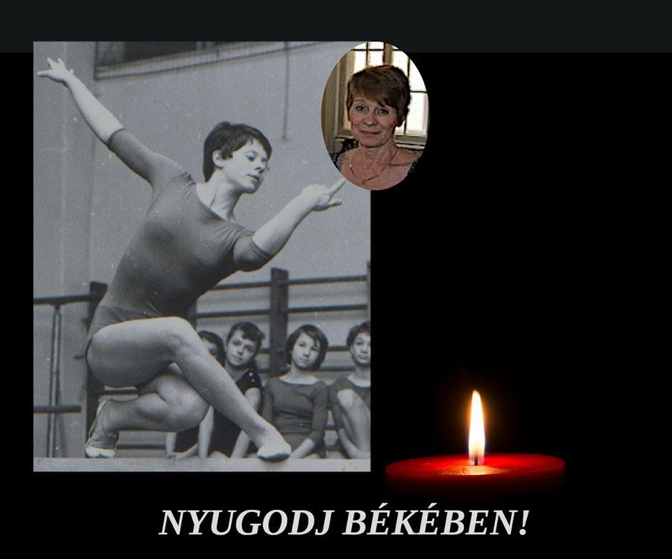 Elhunyt Bánfai Ágnes olimpikon tornász, a Baross Imre Artistaképző Intézet tanára