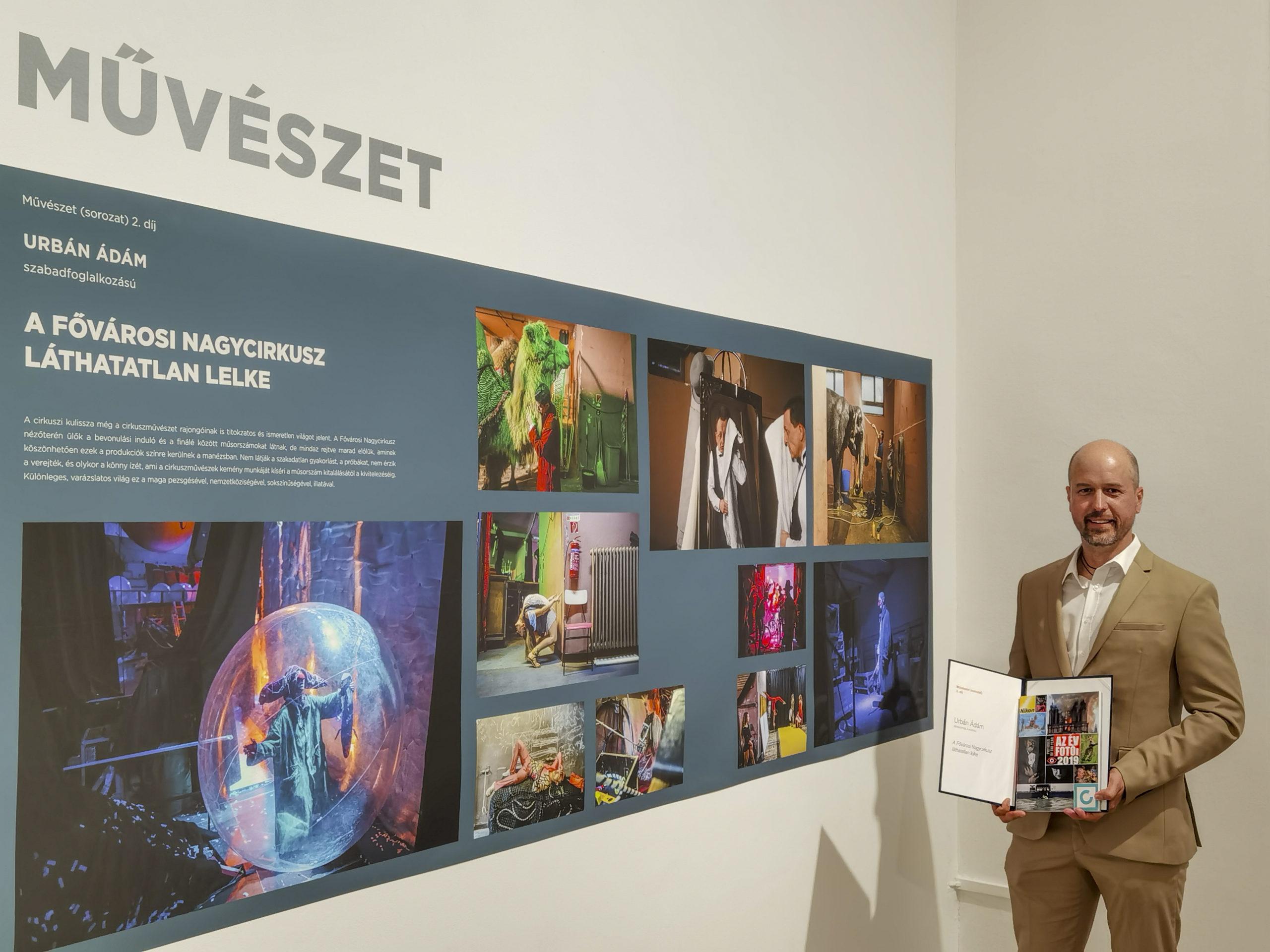 Urbán Ádám II. helyezést ért el a Magyar Sajtófotó Pályázat Művészet (sorozat) kategóriájában
