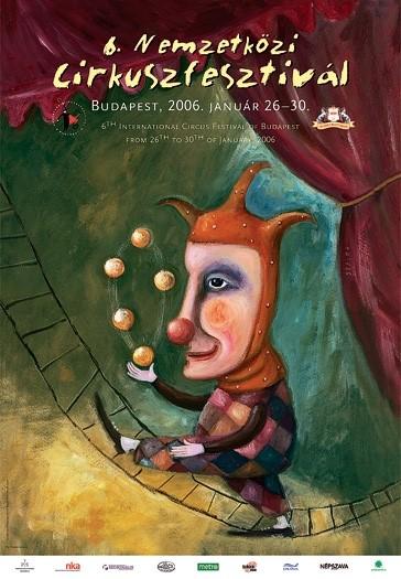 Elismert magyar festőművészek cirkuszi ihletettségű alkotásai