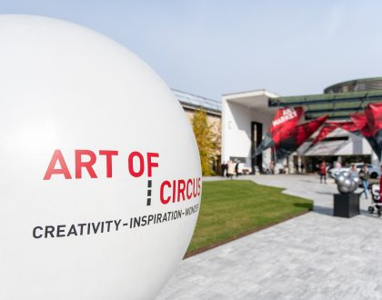 Cirkuszművészet az Art Marketen