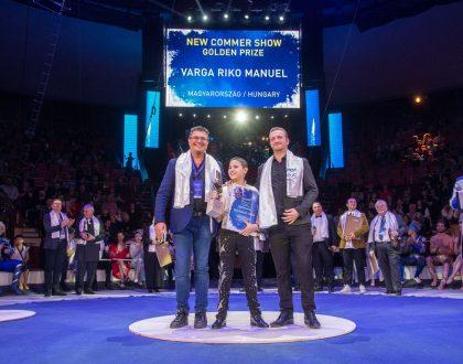 Fénylő ifjú magyar artistacsillag a nemzetközi porondon