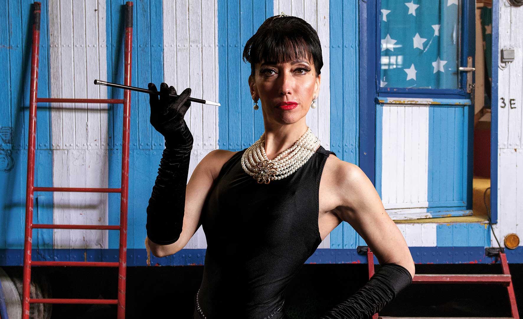 A porondon: Audrey Hepburn! – Interjú Váradi Évával