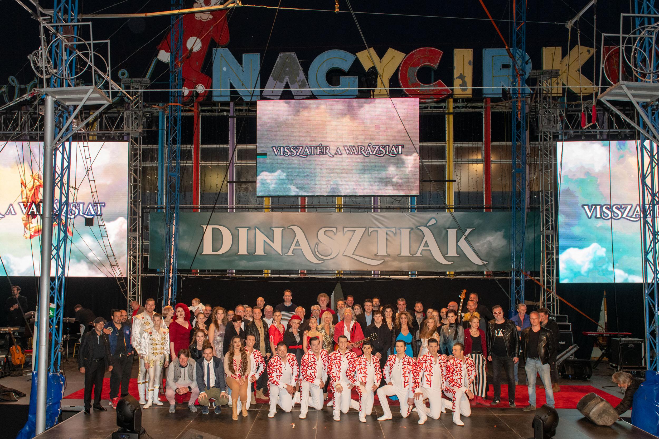 Impozáns gálaműsorral ünnepelte a Fővárosi Nagycirkusz az újranyitást
