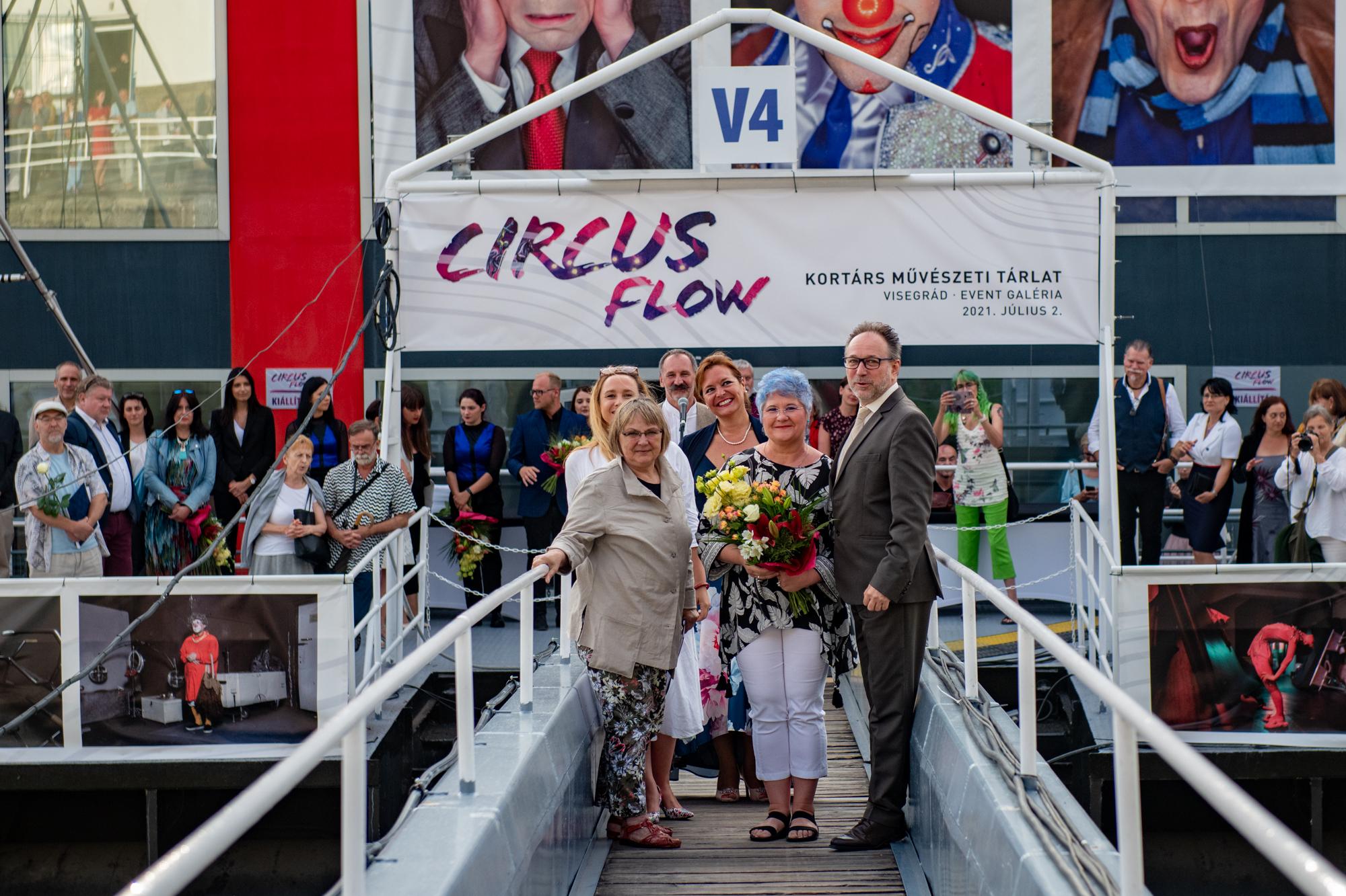 Nagy sikerrel zárult a CIRCUS FLOW Cirkusz – Művészet – Alkotás című kortárs művészeti tárlat