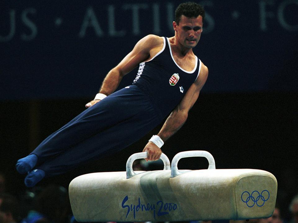 Supola Zoltán elképesztő tornász karrierje után nyolc éven át volt a Cirque du Soleil társulatának tagja. Fotó: Nemzeti Sport.