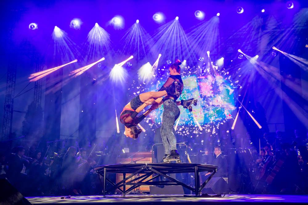 A szombaton bemutatásra kerülő előadás azért is lesz különleges, mert szerves részét képezi a cirkuszművészet.
