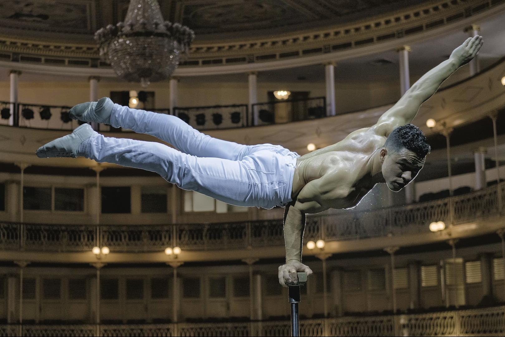 Megérkezett a Budapest Nemzetközi Cirkuszfesztivál első fellépője